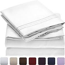 amazon com 6 piece 1500 thread count deep pocket bed sheet set