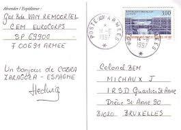 exercice au bureau la poste aux armees un bureau postal militaire temporaire méconnu