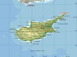 map of cyprus cyprus search chalayan cyprus and