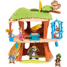 rabbit treehouse rabbit treehouse playset 30 00 hamleys for rabbit