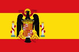 the flag of francoist spain is like a badass mediterranean prussia