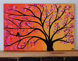 abstract tree paintings pinterest abstract tree paintings canvas