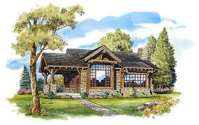 cabin home plans house plan 43204 at familyhomeplans