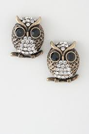 owl stud earrings owl stud earrings want owl owl earrings and
