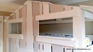 custom made children u0027s house bunk bed by d u0026s artistic woodworking