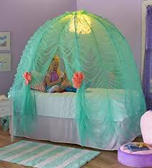 bed tent with light amazon com light up under the sea bed tent toys games