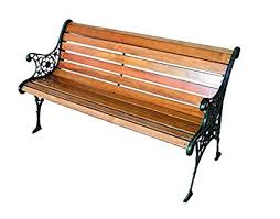 panchine legno blinky 9694030 panchina ghisa legno it fai da te