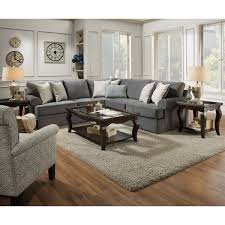 Simmons Sectional Sofas Simmons Upholstery Abington Seven Seas Sectional Overstock