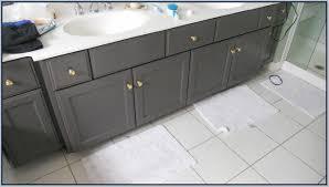 How To Paint Bathroom Paint Bathroom Vanity With Chalk Paint Home Design Ideas