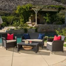 Hamptons Style Outdoor Furniture - wicker patio furniture shop the best outdoor seating u0026 dining