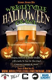 wrigleyville halloween crawl in chicago at wrigleyville u0027s best