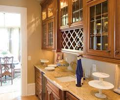 cherry cabinets in a traditional kitchen kemper