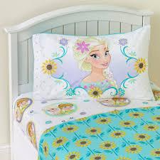 Frozen Toddler Bedroom Set Disney Frozen Sunshine Fever Twin Sheet Set Elsa U0026 Anna Home