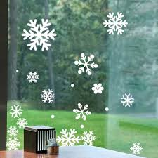 popular christmas window decal buy cheap christmas window decal snow flakes window stickers winter snowflake wall stickers new year christmas window wall decals xmas christmas