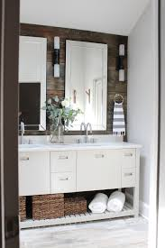 design indulgence before and after modern rustic bathroom
