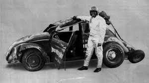 beetle volkswagen black meet black widow the rocket powered former fastest beetle of all time