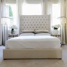 excellent tall white headboard 100 tall white diamond leather