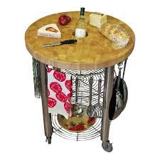 30 in round kitchen cart 2 in butcher block cart jetrich canada s pro stadium round prep cart