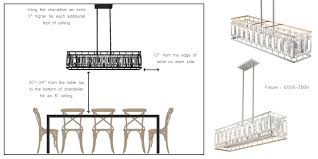 Chandelier Height Above Table by Pro Tip Hanging Height For Dining Room Fixtures Z Lite Blog