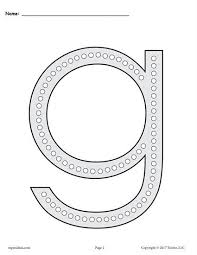 lowercase letter g coloring page free letter g q tip painting printables includes uppercase and