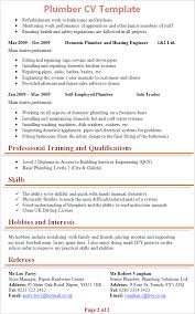 resume template sle electrician quote plumbing cv template europe tripsleep co