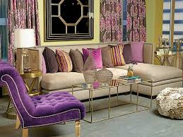 home fashion interiors cute interior design ideas with purple curtains and pillow for home