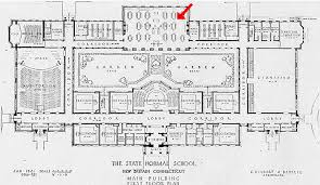 admin building floor plan elihu burritt library stanley street