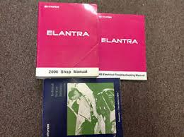 2006 hyundai elantra repair manual 2006 hyundai elantra service repair shop manual set w wiring