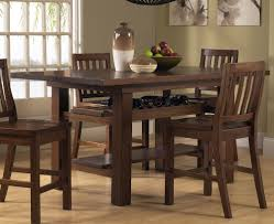 Dining Room Table Styles Bar Height Dining Table Style Best Choosing Bar Height Dining