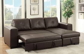sectional pull out sofa espresso faux leather sectional set pull out bed sofa chaise