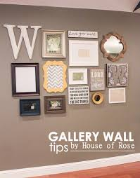 Creative Gallery Walls For Inspiration Mirror Letters - Family room photo gallery
