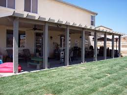 backyard covered patio cost home outdoor decoration