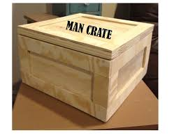 white plywood gift crate crate diy projects