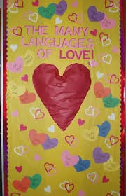 valentines door decorations the many languages of s day classroom door decoration