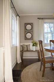 Curtains For Dining Room Ideas Dining Room Fresh Farmhouse Pinterest Room House And Dining