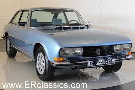 peugeot classic cars peugeot 504 coupe 1978 for sale at erclassics