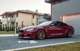 bmw m6 modified prior design pd6xx widebody aerodynamic kit for bmw 6 series f12