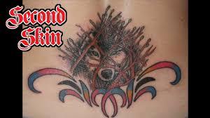 wolf tribal tattoo edmonton