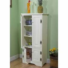 antique white kitchen storage cabinet this cabinet is a versatile solutionfor a narrow kitchen or
