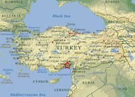 Turkey Greece Map by Turkish Wild Life
