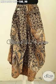desain baju batik halus rok batik keren desain aladin untuk wanita muda dan dewasa bahan
