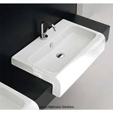 la fontana luxury designer semi recessed basin designer