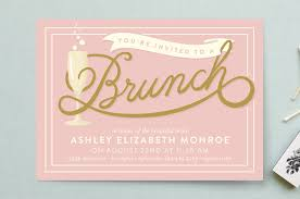 brunch bridal shower invites bubbly brunch bridal shower invitations by geekink design minted