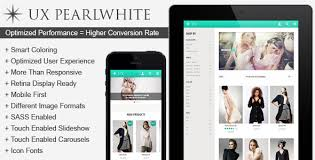 ux pearlwhite fast responsive magento theme by ux templates
