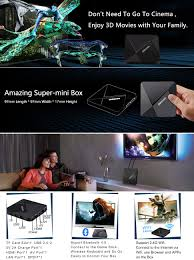 amazon com android tv box dolamee d5 4k smart tv box android 6 0
