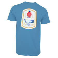 natty light t shirt natural light men s blue vintage t shirt