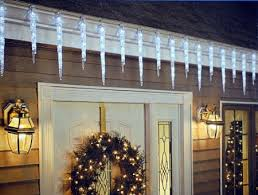 shooting star icicle lights icicle lights lightshow of shooting stars holiday decor