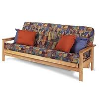 wood futon frames all wood futons at futon creations