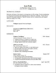 Education On Resume Example by Incomplete Education On Resume Sample