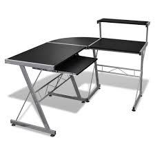 Schreibtisch H Enverstellbar Eck Vidaxl Computertisch Schreibtisch Arbeitstisch Real